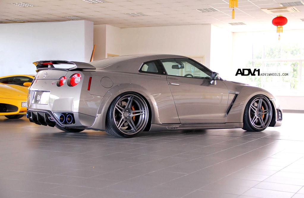 Nissan Gtr R35 >> Nissan R35 GTR WALD BISON ADV05 Track Spec   ADV1WHEELS   Flickr
