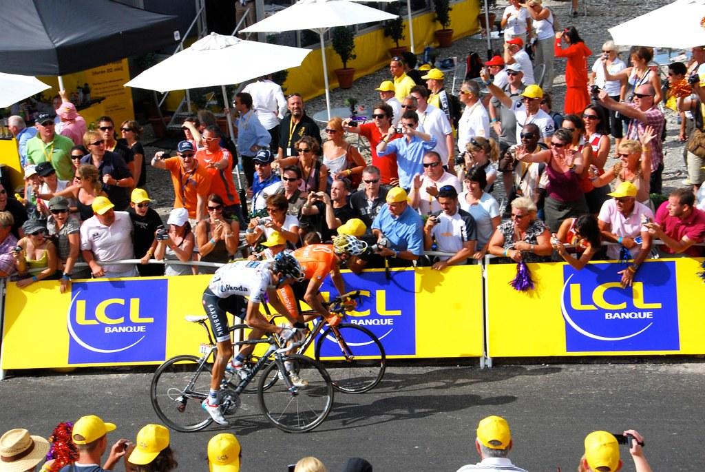Tour de France 2010 / Morzine Avoriaz / Andy Schleck