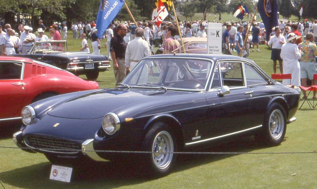 1969 Ferrari 356 Gtc Pininfarina Berlinetta Richard
