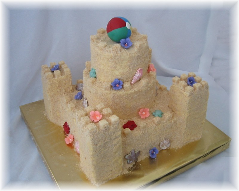 Sanding Sugar Cake