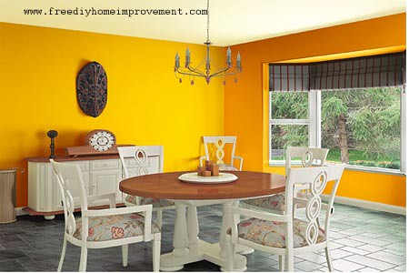 interior-wall-paint-yellow-color | Mike Ray | Flickr