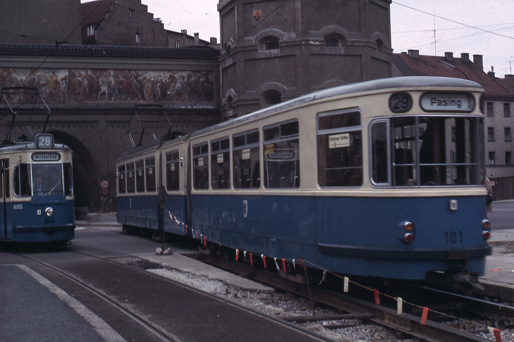 jhm 1965 0468 munich m nchen tramway jean henri manara flickr. Black Bedroom Furniture Sets. Home Design Ideas