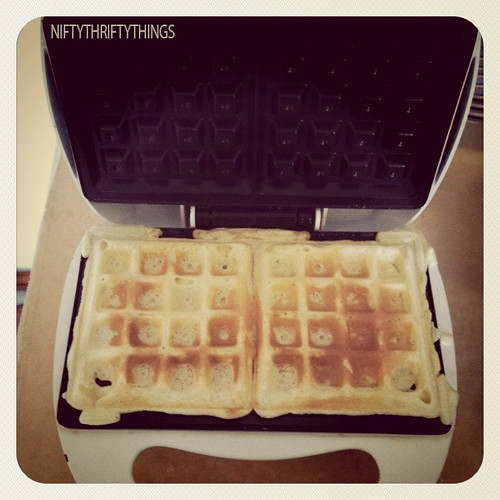{waffle madness} | by {nifty thrifty things}