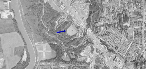 Victory Drive-In aerial photo 1968 | by OzonerGPS