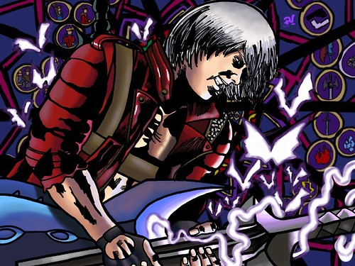 Dante (Devil May Cry 3) | by Eye of The Sun God