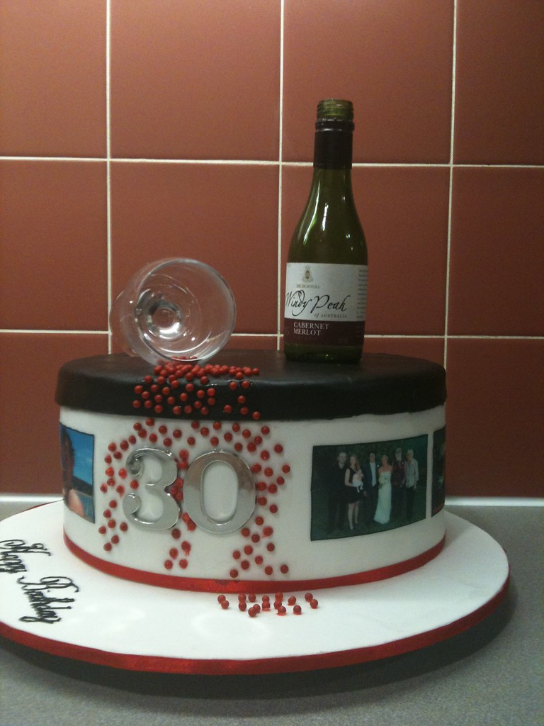 Wine Bottle Design Cakes Www Topsimages Com
