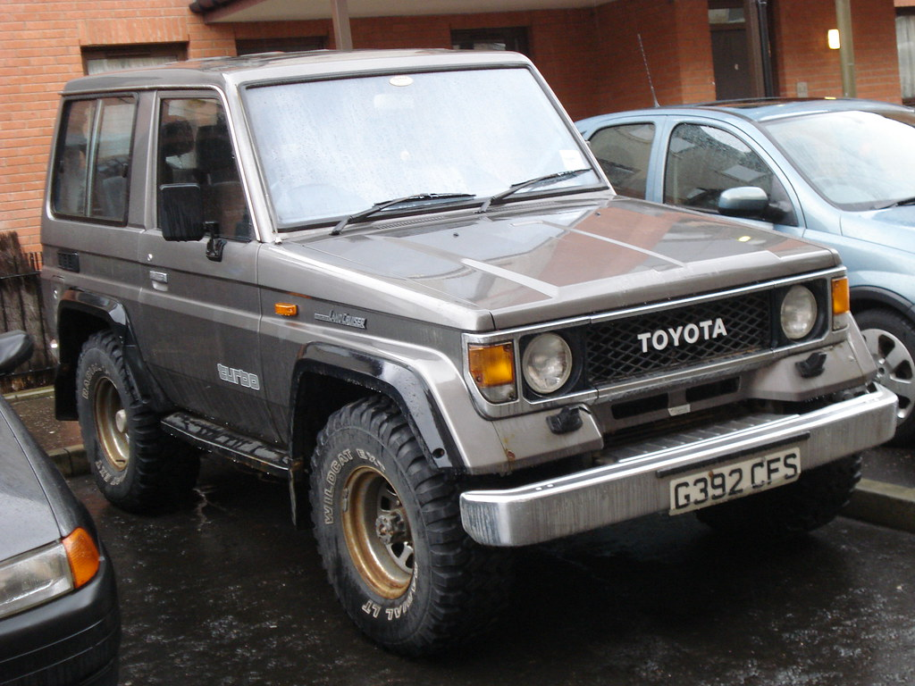 1989 Toyota Land Cruiser Vx 2 5 Diesel Alan Gold Flickr