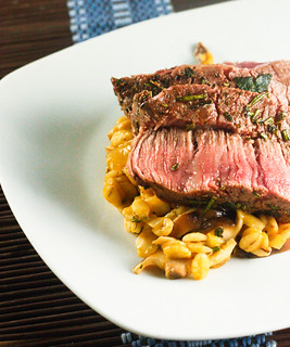 Steak with Barley Mushroom Risotto 2 (1 of 1) | by bell.ab