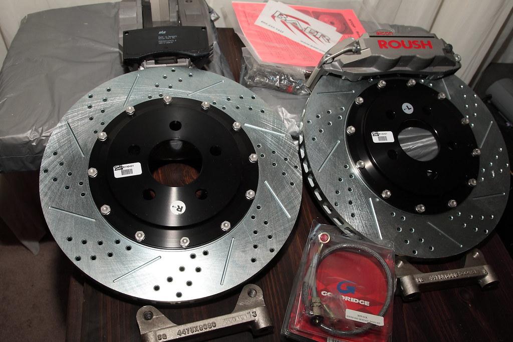 99 04 Roush Alcon 14 Quot Big Brake Kit And Baer Eradispeed Pl