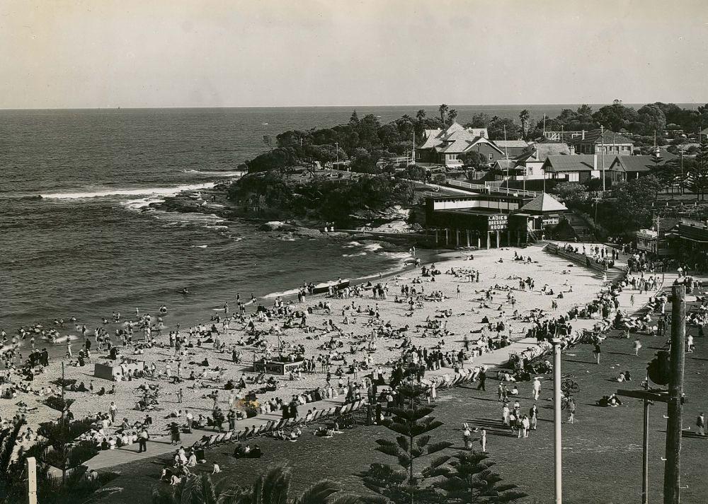Bondi Beach Looking At Opera House