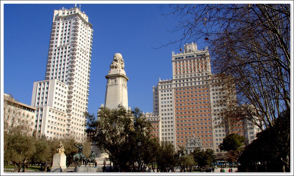 Lugares con encanto plaza de espa a de madrid uno de los - Lugares de madrid con encanto ...