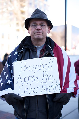 Baseball, Apple Pie, Labor Rights | by BlueRobot