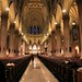 New York City, 5th Ave, Basilica of St. Patrick's Cathedral, 1858-78. The Nave