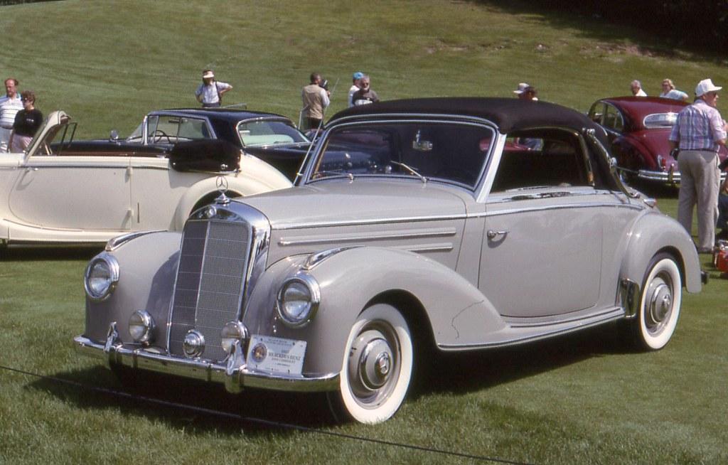 1953 mercedes benz 220 cabriolet a 2 door richard for 1953 mercedes benz 220 sedan for sale