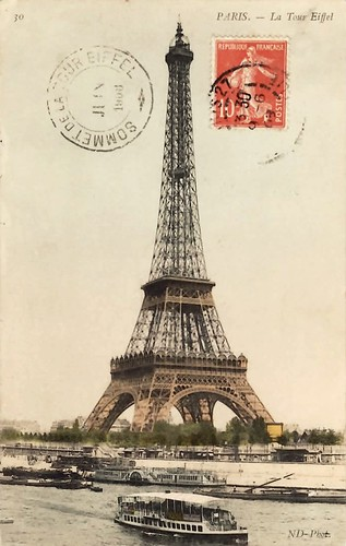 Le tour de Eiffel 1908 | by Trisha Brink Design