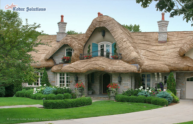 Hansel And Gretel Cottage Home With Large Rolled Gables