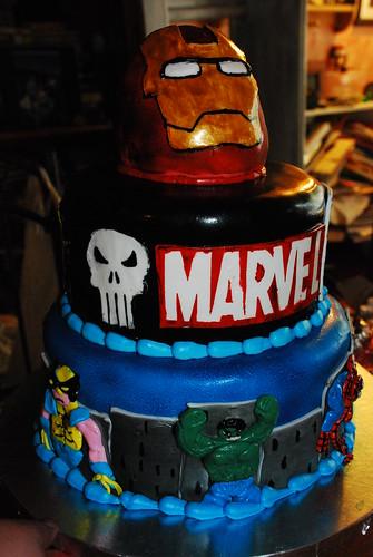 Marvel Cake Flickr Photo Sharing
