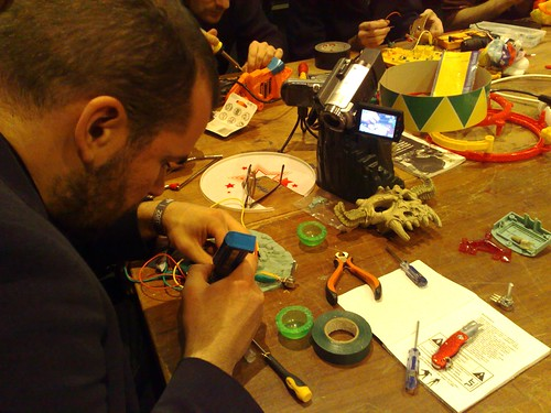 Zombie Media Workshop at transmediale11: Circuit Bending as Media Archaeology | by G A R N E T