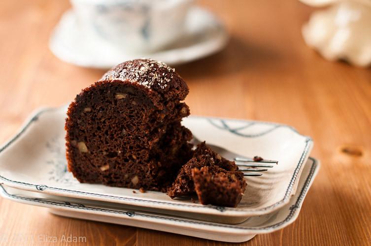Bittersweet chocolate-walnut bundt cake | refer to blog post ...