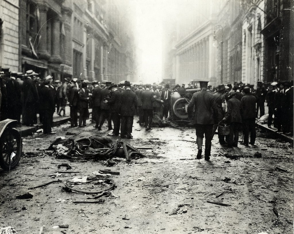 Wall Street Explosion Sept 16 1920 Maker Central News