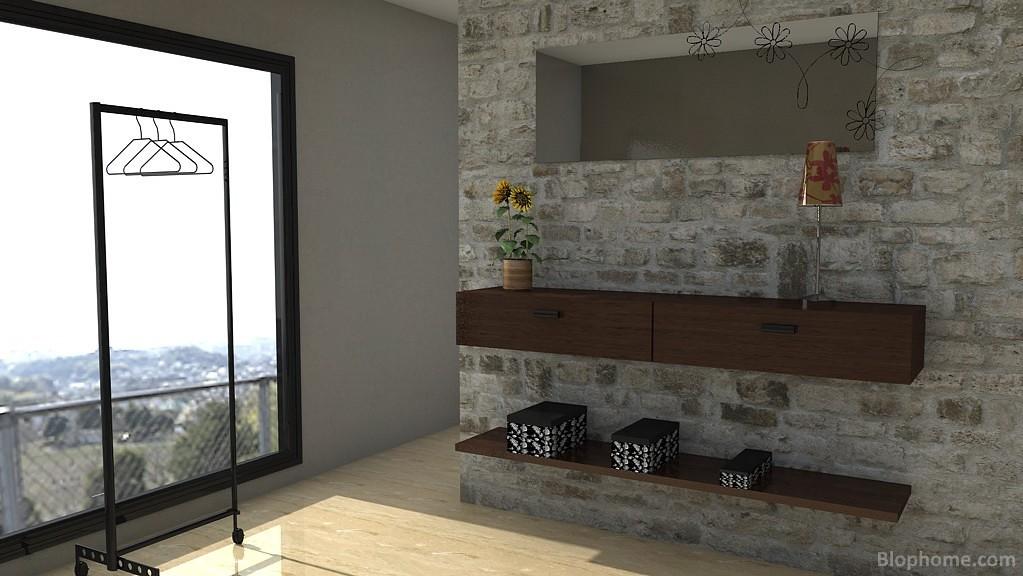 Pasillos y recibidores modernos recibidor r stico y - Decoracion de apartamentos modernos ...