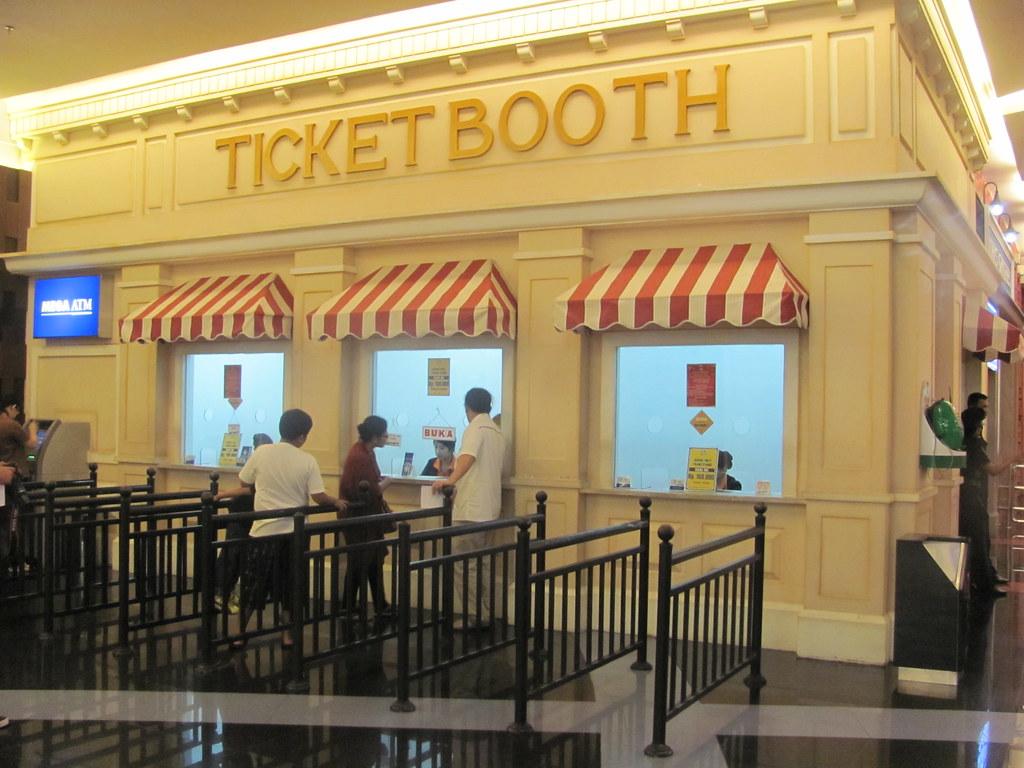 Ticket Booth Trans Studio Theme Park Billy Gabriel Flickr