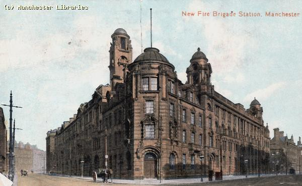 london road fire station  manchester  1908