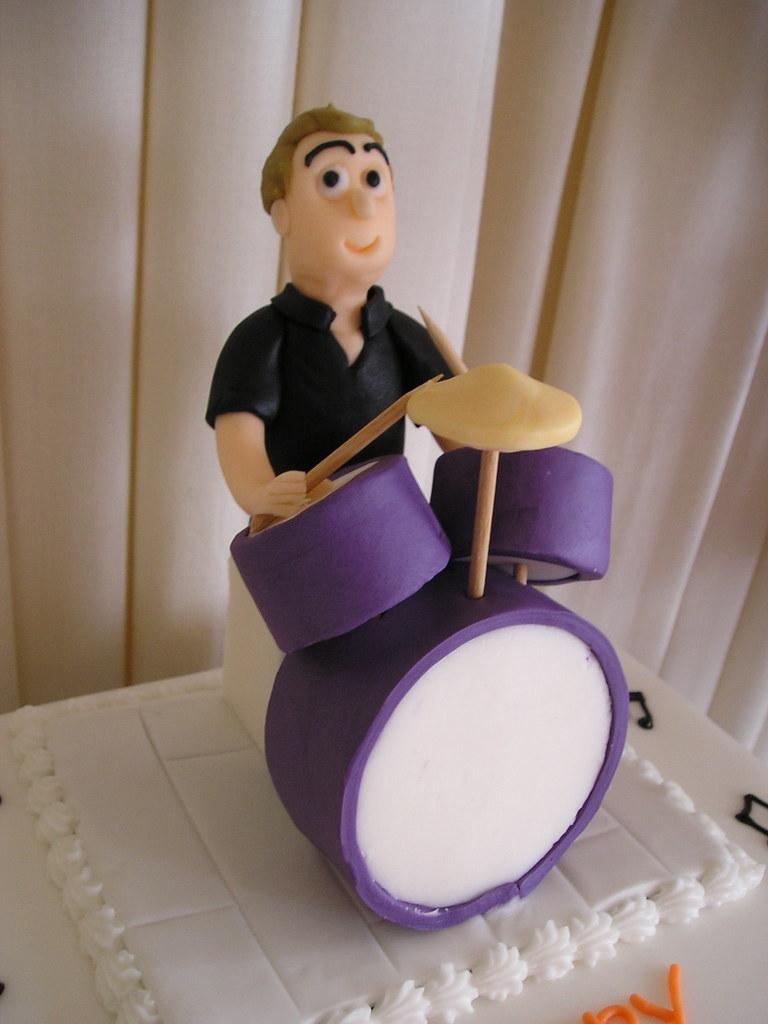 Drums Cake Pan