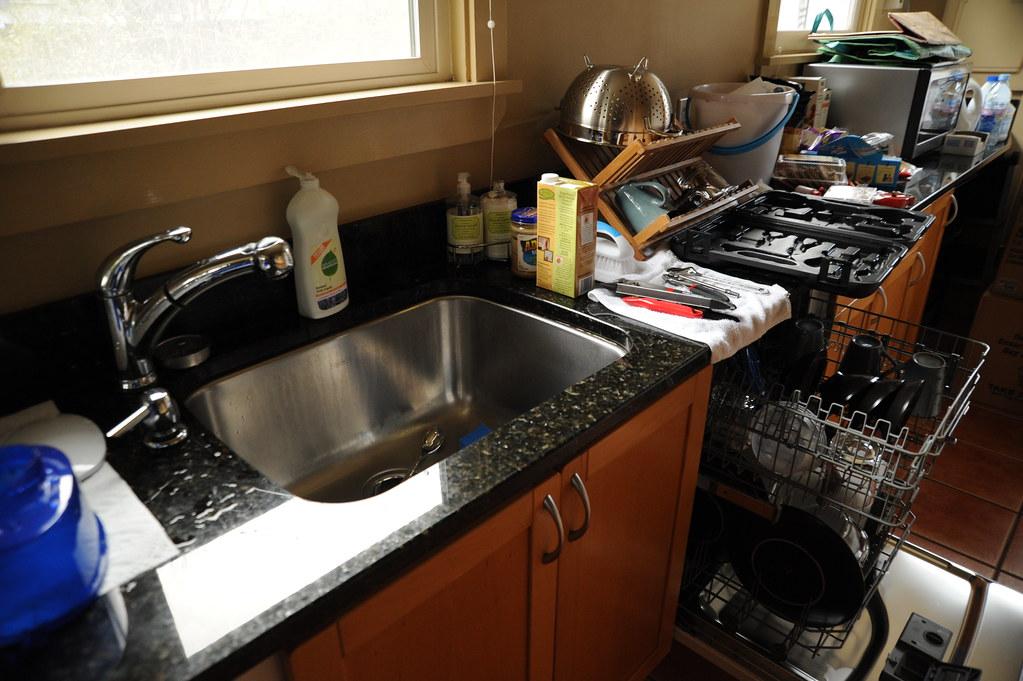 Kitchen Sink Drainer Craking