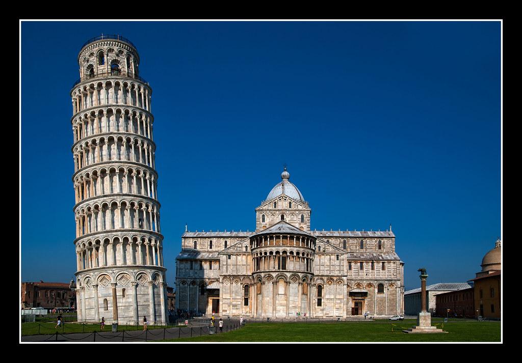foto de 0385 catedral y torre inclinada de pisa La Torre de Pisa o Flickr
