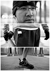 Triptychs of Strangers #2: The Leg-Stretcher, Paris
