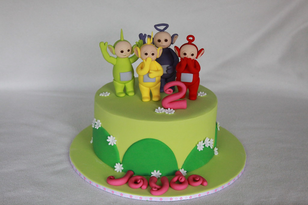 Teletubbies Cake Minerva Reyes Flickr