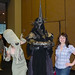 Emerald City ComiCon - Lady Cthulhu, Julie, and the Witch King of Angmar