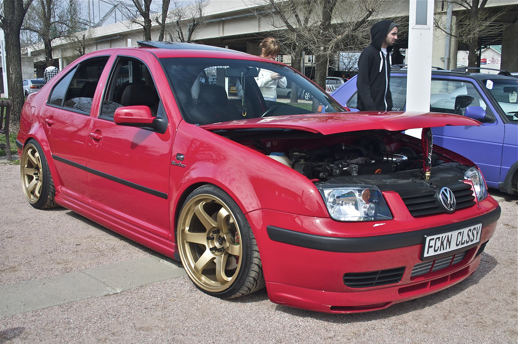 MK4 Jetta | Red MK4 Jetta at Water By The Bridge 2011 | The Pug Father | Flickr