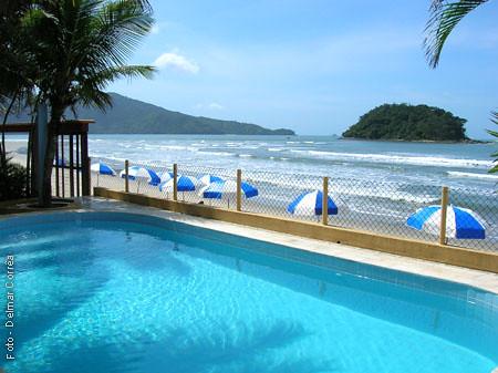 Pousada Kaliman Ubatuba | Piscina, sol e praia