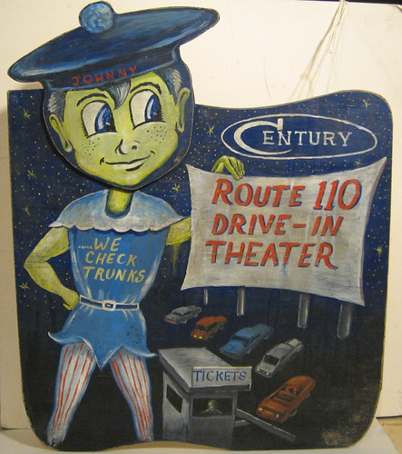 Drive in theater art sign | by KONGA7200