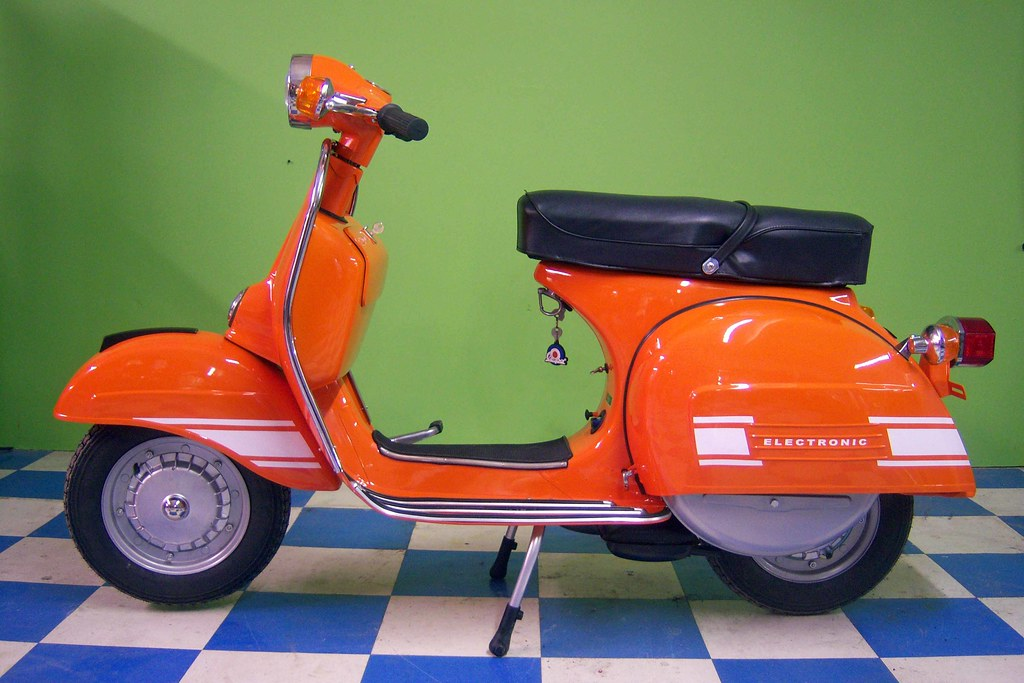1974 vespa rally 200 done 2 green tree scooters flickr. Black Bedroom Furniture Sets. Home Design Ideas