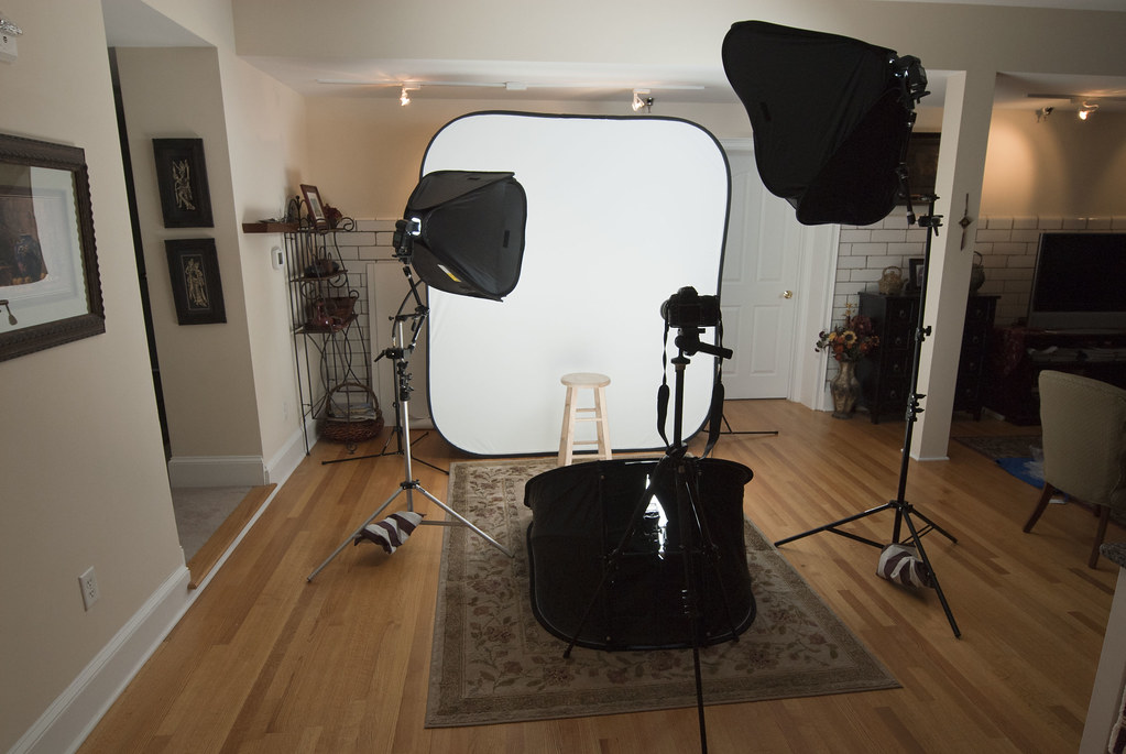 My Home Studio Lighting Gear