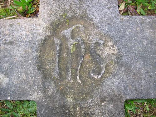Andrew Handyside's headstone marking.