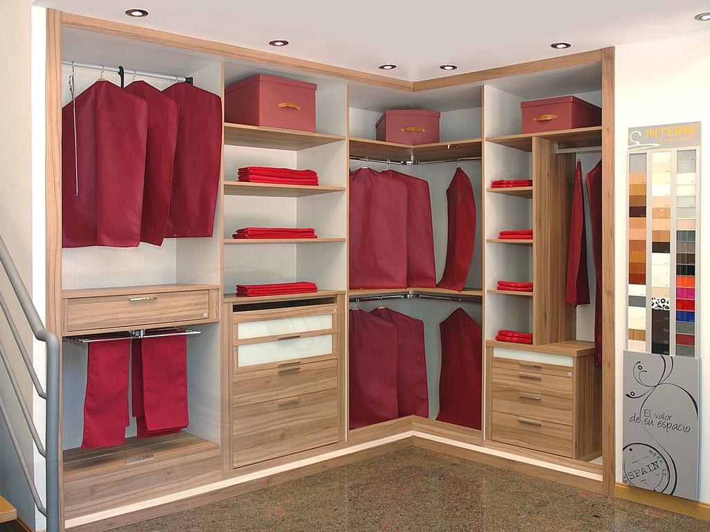 Vestidor vestidor abierto personalizado interni - Armarios personalizados ...