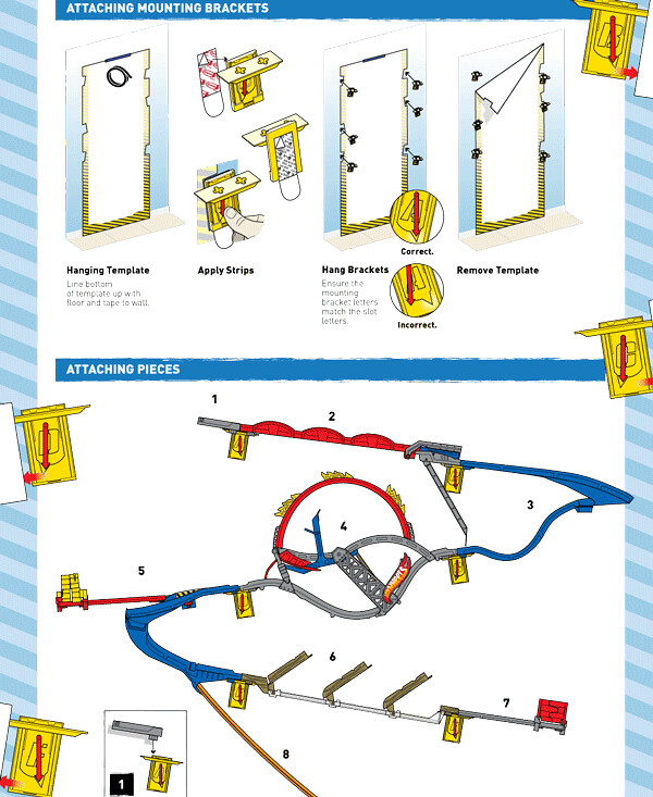 hot wheels wall tracks product manual comp of hot With hot wheels wall tracks template