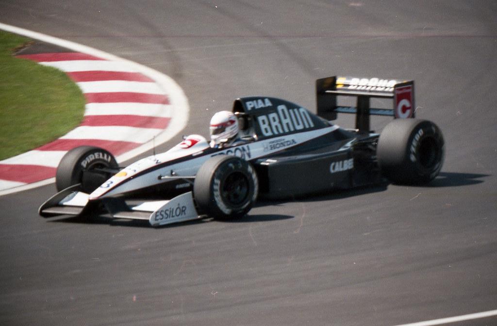 1991 F1 Canadian Gp Satoru Nakajima Tyrrell Honda Flickr