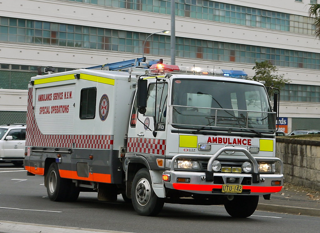Ambulance Service Nsw Special Operations Hino Sot 100 Ex