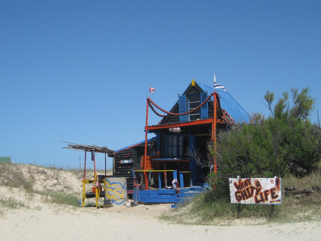 What A Shity Life Typical Cabo Polonio House Right On