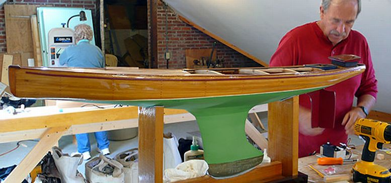 Building a Marblehead M Class pond yacht The Wooden Boat S ...
