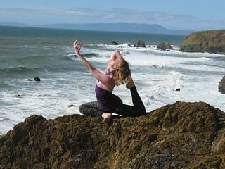Ocean Cliff Yoga | by TheWildMountainMan