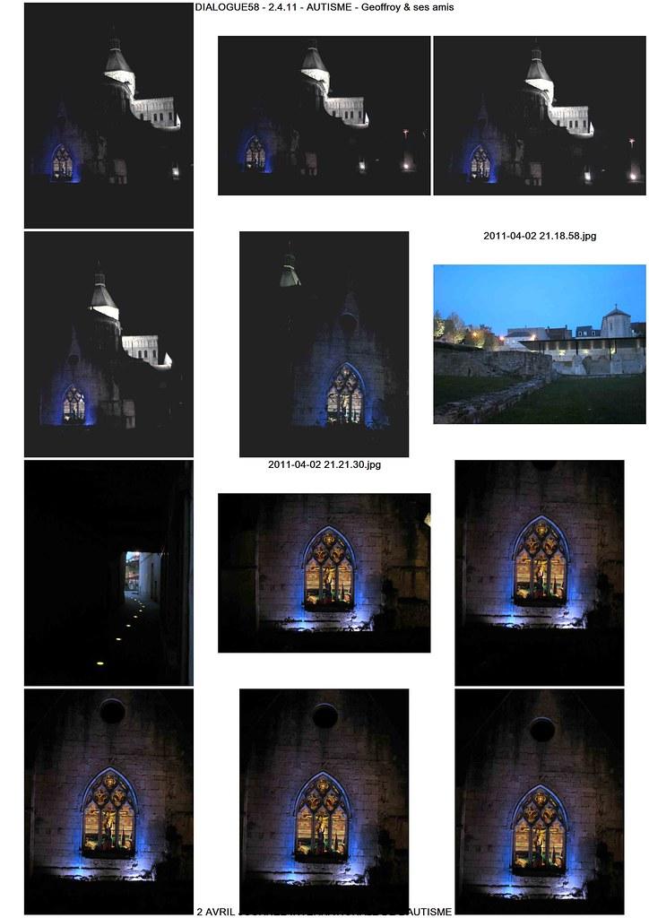 Light It Up Blue Photos Notre Dame At La Charit 233 Sur Loir