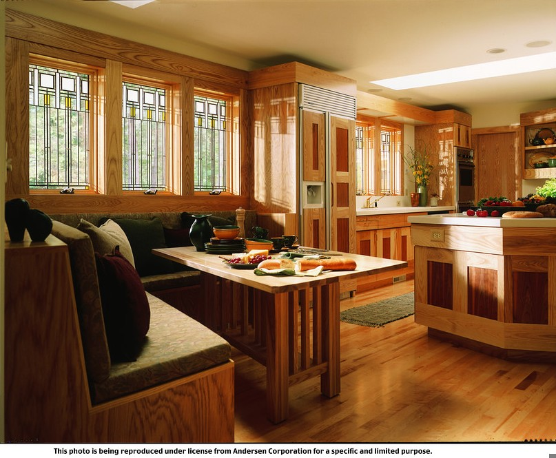 Anderson Replacement Windows >> 400 Series Art Glass, Frank Lloyd Wright Series - Colonnad ...