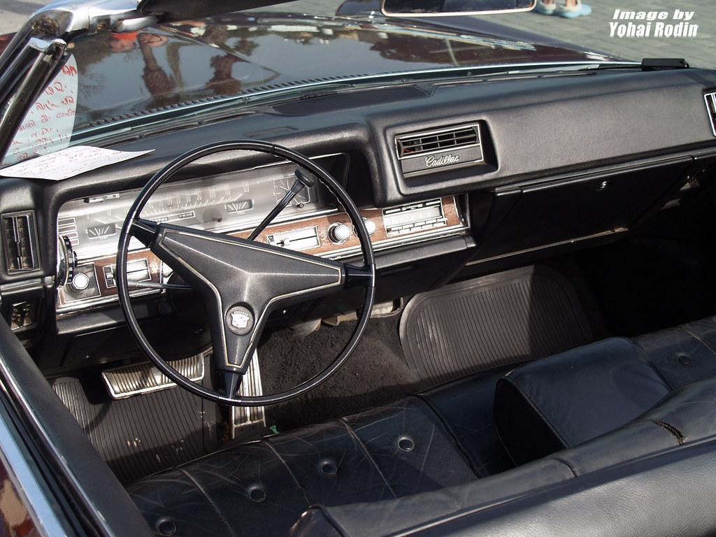 1968 Cadillac Coupe Deville Interior Yohai Rodin Flickr