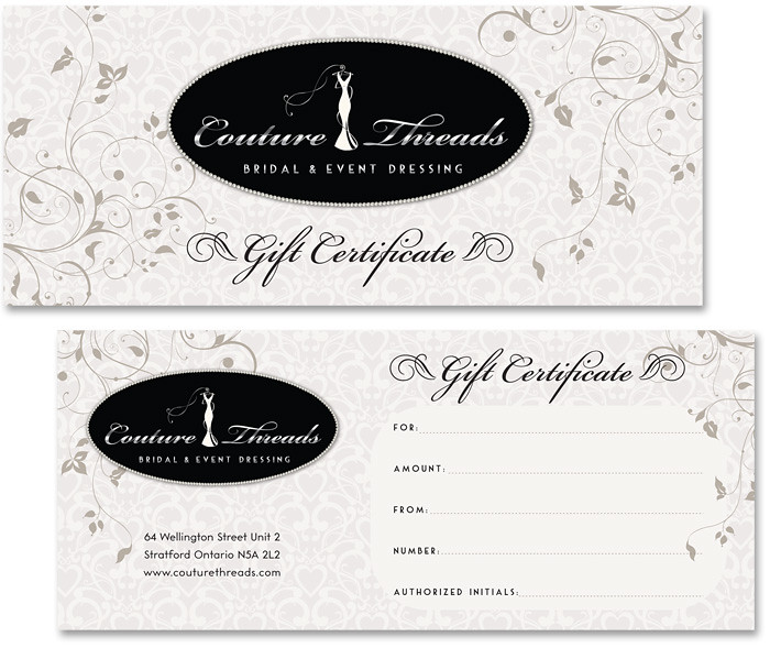 Wedding Gift Certificate Image Collections   Wedding Decoration Ideas